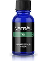 NATRÄL Thuja, 100% Pure and Natural Essential Oil, Large 1 Ounce Bottle