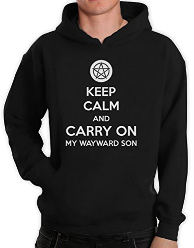 Negro And Son Carry Wayward Con My Sudadera Keep Capucha Calm On gOwRRA