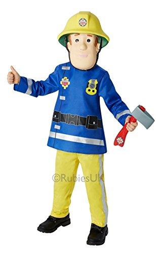 Fireman Sam Children's Fancy Dress Costume 3-4 Years