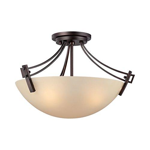 Wright Ceiling Lamp Espresso 3X60W 120V - Light Wright Pendant 3