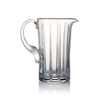 Image of Carafes & Pitchers Trump Home Elmsford Rogaska Crystal Water Pitcher