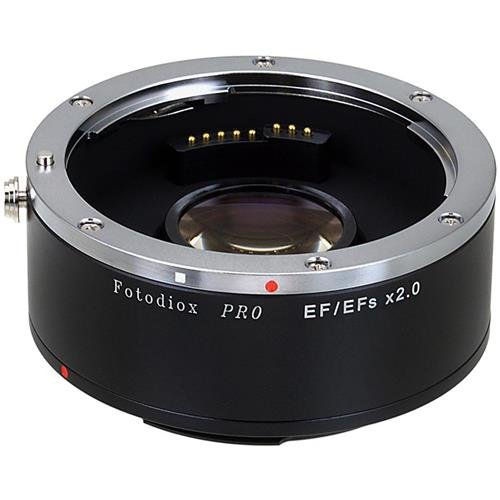 Fotodiox Pro Autofocus 2x Teleconverter - AF Doubler x2.0 for Canon EOS EF, EF-S Camera and Lens (APS-C & Full