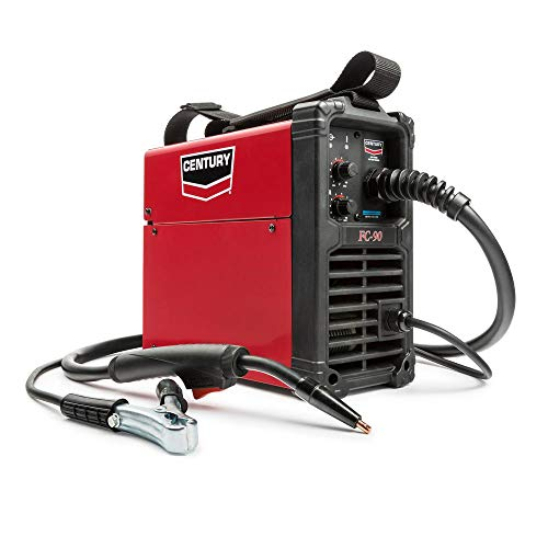 Century K3493-1 90 Amp FC90 Flux Core Wire Feed Welder and Gun, 120V