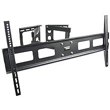 """VIVO Full Motion Articulating Corner Wall TV Mount Bracket for 37"""" to 70"""" LCD OLED Plasma Flat Screen (MOUNT-CR01V)"""