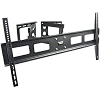 VIVO Full Motion Articulating Corner Wall TV Mount Bracket for 37 to 63 LCD OLED Plasma Flat Screen (MOUNT-CR01V)