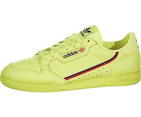 2711eac6de8 adidas Continental 80 (Semi Frozen Yellow Scarlet Navy) Men s Shoes ...
