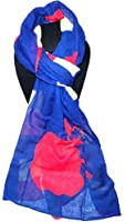 Disney Parks Snow White Apple Silhouette Lightweight Scarf