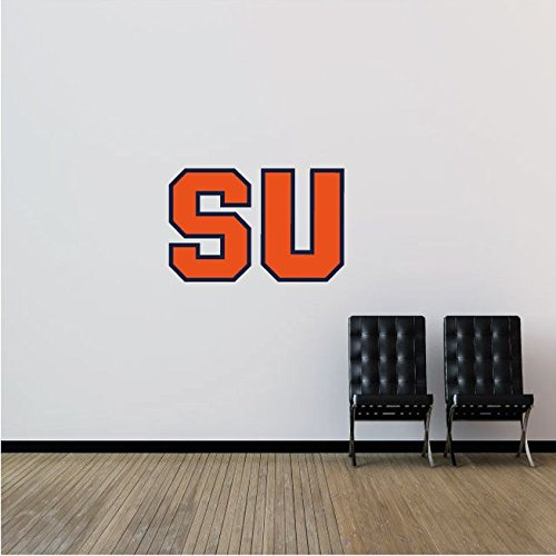 Syracuse Orangemen NCAA USA Symbol Logo College Sport Art Wall Decor Sticker 25'' x 16''