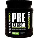 NutraBio Pre Extreme Cluster Dextrin Infused Pre-Workout - Green Apple (792 grams)