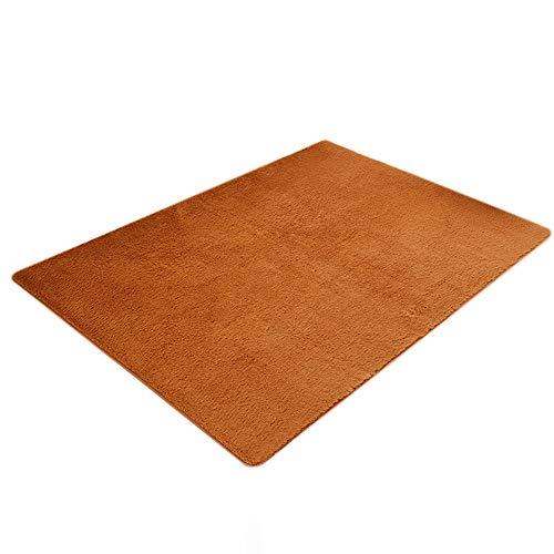 Loveso 60x160cm Fluffy Rugs Living Room Bedroom Foyer Home Plush Carpet]()