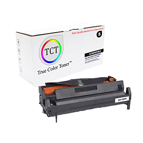 True Color Toner B410 B420 B430 B440 Okidata 43979001 Compatible Drum Unit Replacement (25,000 Pages)