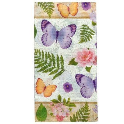 Amscan In the Garden Paper Table Cover | Party Tableware