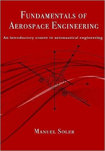 Fundamentals Of Aerospace Engineering An Introductory Course To Aeronautical Engineering Amazon Co Uk Soler Manuel 9781493727759 Books