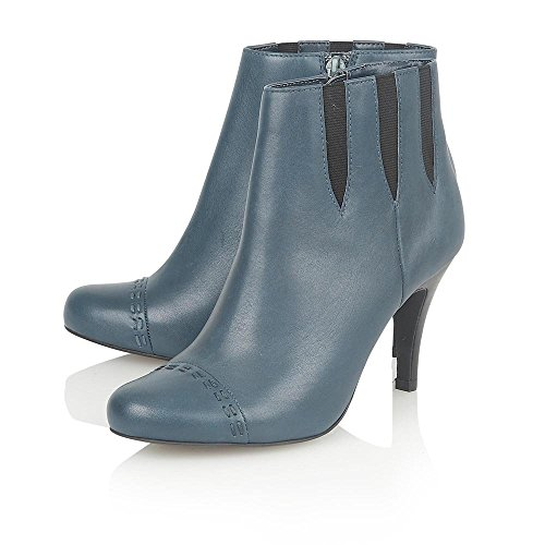 Boots Chelsea LOTUS Blue BEA Blue Leather Boots Ankle UwaYXHaq