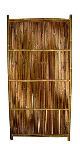 Bamboo Fence Panel Horizontal Style