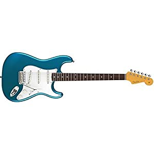 FENDER ERIC JOHNSON STRATOCASTER LUCERNE AQUA FIREMIST + CASE Electric guitars Stratocaster