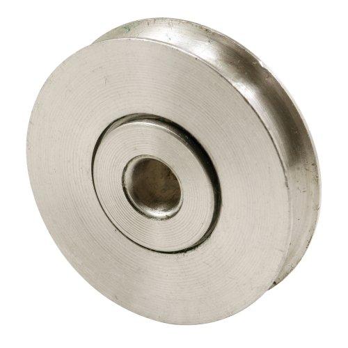 Slide-Co 132302 Sliding Door Roller 1-1/2-Inch Stainless Steel Ball Bearing, 2-Pack Stainless Steel Ball Bearing Roller