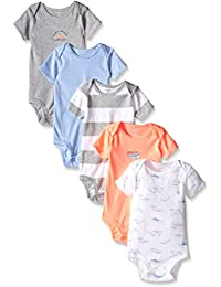 Carter's Baby Boys' 5 Pack Bodysuits (Baby) - Assorted -...
