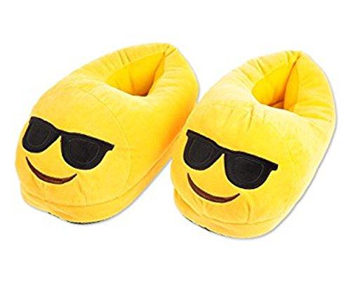 EMOJI Winter Shoes Unisex Adult Slippers Warm Soft