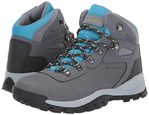 Columbia Women's Newton Ridge Plus Hiking Boot, Grey Ash/Riptide, 6 Regular US by Columbia (Image #5)