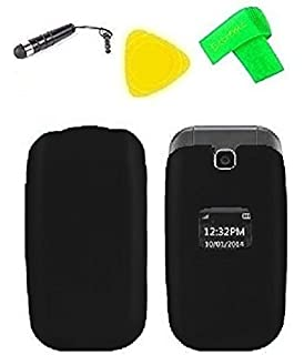 lg b470. hard snap on cover case cell phone accessory + extreme band stylus pen pry lg b470 b