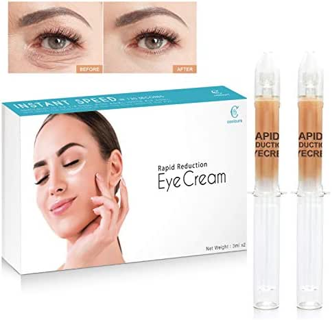 HSBCC Rapid Reduction Eye Cream - Under-Eye Bags Treatment - Instant Results within 120 Seconds - Fights Wrinkles and Fine Lines - Reduces Appearance of Dark Circles