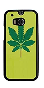 weed hipster Quote Hard Case for HTC ONE M8 ( Sugar Skull )