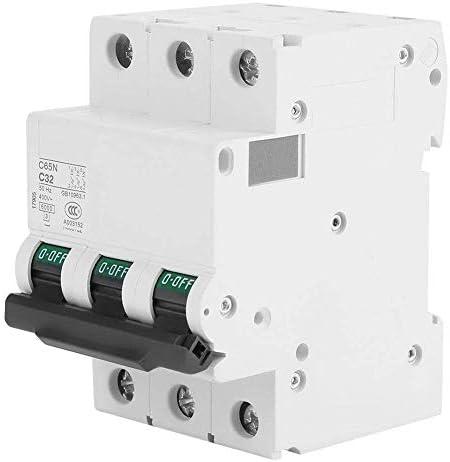 WXQ-XQ サーキットブレーカ、3極6KA AC400V回路ハウジングと同様の建物照明に過負荷および短絡保護のために使用されるブレーカー、電線(32A) 遮断器
