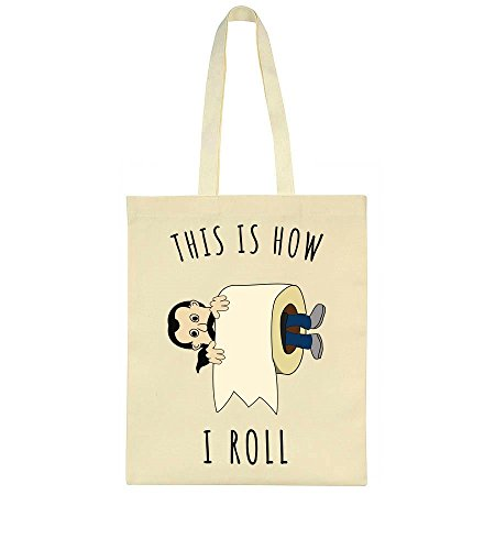 Bag Roll How In Tote This I Paper Is Toilet w8qntA1