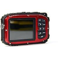 PowerLead Gapo G051 2.7 Inch LCD Cameras 16 MP Digital Camera Underwater 10m Waterproof Camera+ 8x Zoom(red) Basic Intro Review Image