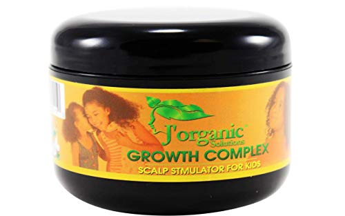 - J'Organic Solutions hair growth Scalp stimulator (Hand Made Hair Grease for Kids) Softer, shinier, healthier hair, with Lanolin, Sweet Almond Oil, Castor Oil & More
