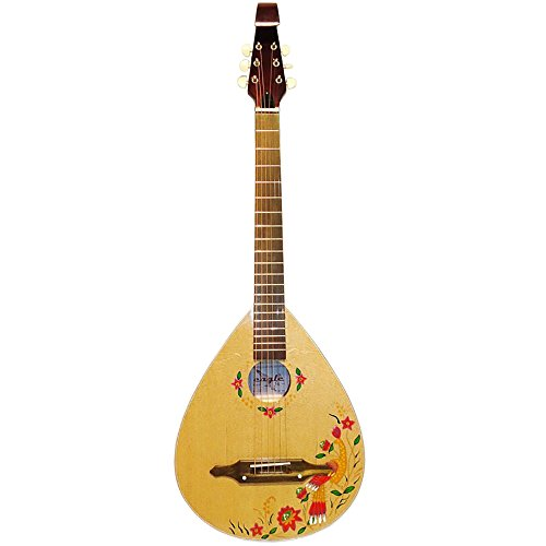 New Nice Ukrainian Folk Classical Acoustic Guitar Kobza Wooden 6st Original, 60 by Trembita