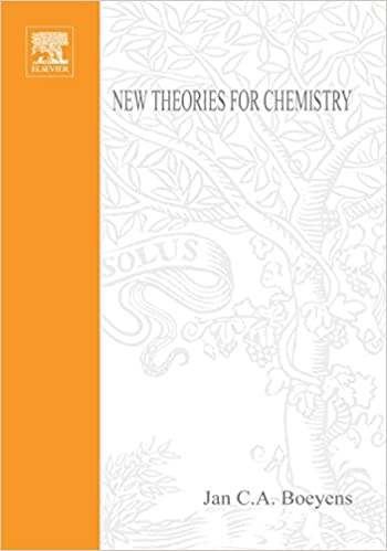 new theories for chemistry boeyens jan c a