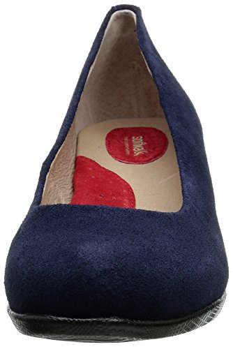 SoftWalkImperial Azul Mujer Gamuza Marino para Imperial rw8tqCr