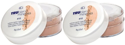 Cover Girl Mineral Makeup - CoverGirl TRUblend Mineral Loose Powder - Translucent Medium (415) - 2 pk