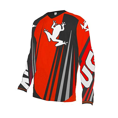 Uglyfrog Long Sleeve Downhill Jersey DH/AM/XC/FR/MTB/BMX/Moto/Enduro/Offroad Cycling Moto Wear ()