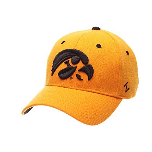 お香再撮り従事したZephyrメンズIowa Hawkeyes ZHS Zwoolストレッチフィット帽子