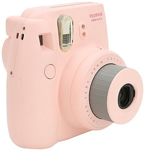 Fujifilm Instax Mini 8 Instant Film Camera (Pink)(Renewed)