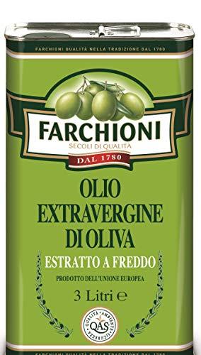 Farchioni – Extra Vierge Italiaanse Olijfolie – Koudgeperst – 3 Liter blik