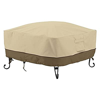 Classic Accessories Veranda Square Fire Pit/Table Cover