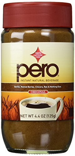 Pero Coffee Substitute Instant Beverage Jars, 4.4 oz