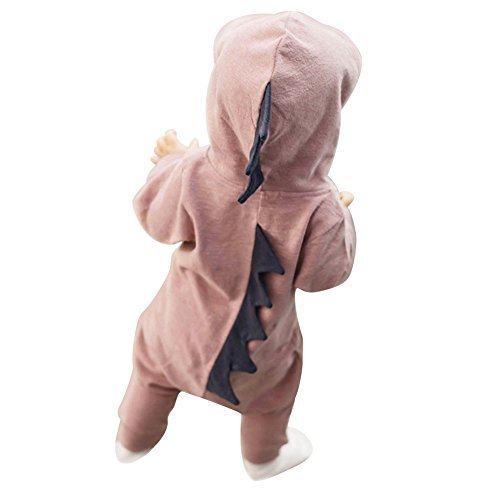 Baby Boy Girl Halloween Dinosaur Costume Newborn Infant Toddler Jumpsuit (1 Year Old Halloween Costume Patterns)