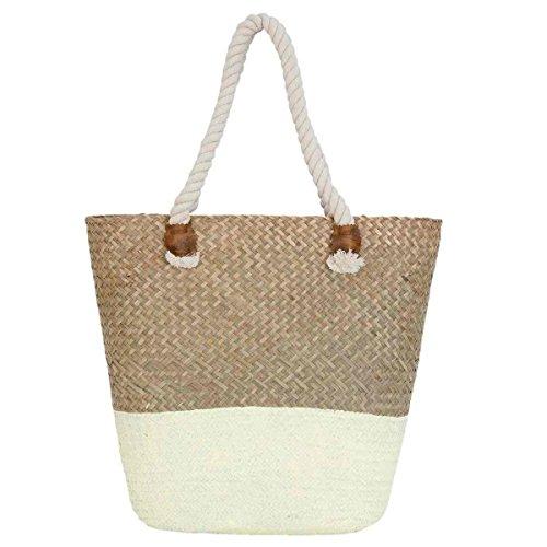 Clayre & Eef BAG266 borsa spiaggia borsa ca, 45 x 15 x 40 cm