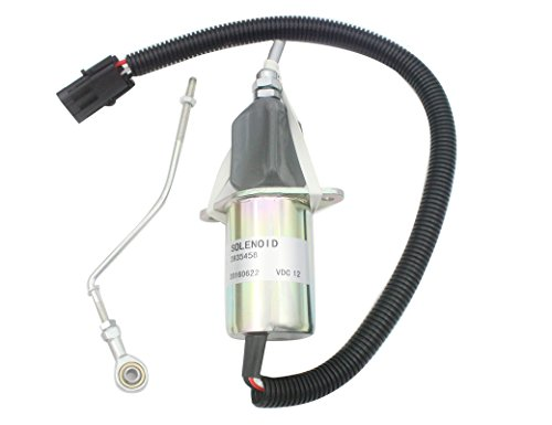 (3935458 SA-4763-12 Flameout Solenoid 12V -SINOCMP Low Pressure Casting Water Pipe Solenoid Valve for Cummins Diesel Engine Spare Parts 3 Month Warranty)