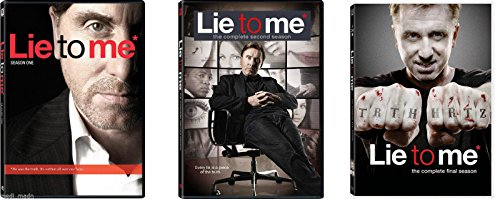DVD : Lie to Me Complete Series Seasons 1-3 DVD Set