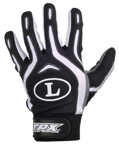 Large Black Pro Series (Louisville Slugger TPX Pro Youth Design Series Batting Glove (Large, Black))