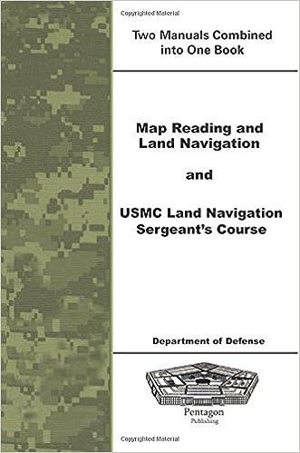 Map Reading And Land Navigation And USMC Land Navigation Sergeants - Us army guide to map reading and navigation