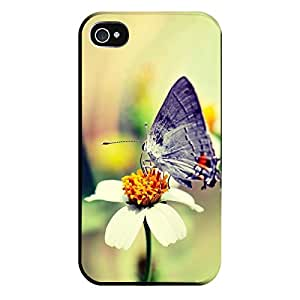 Iphone 4 4s Case-silicone Protective-free__beautiful_butterfly