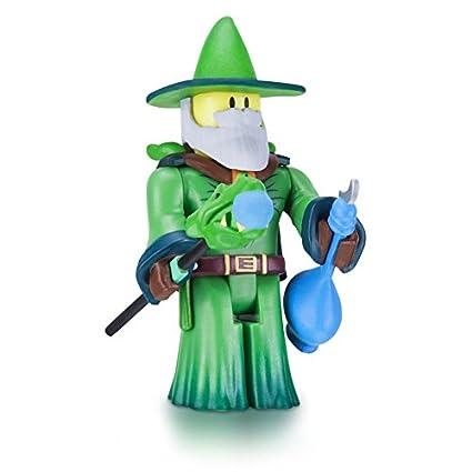 Amazon Com Roblox Emerald Dragon Master Figure With Exclusive