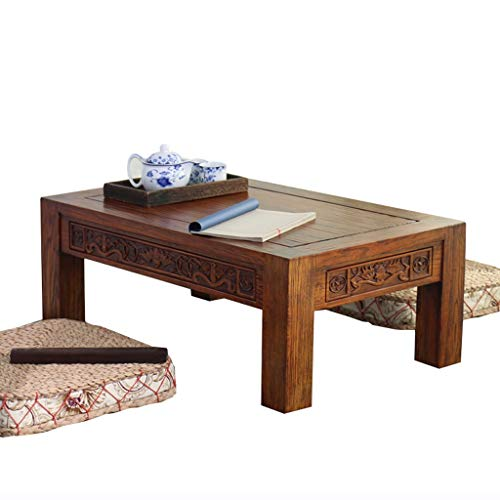 Amazon.com: Coffee Table Antique Carved Coffee Table Solid ...